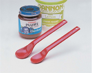 Picture of Maroon Spoons